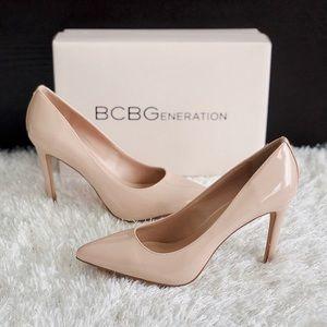 ✨New BCBG BCBGENERATION Heidi Patent Pointed Pumps